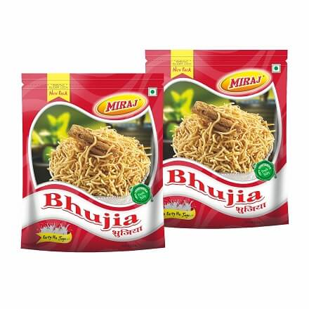 Bhujia Namkeen Pack Of (400g X 2)