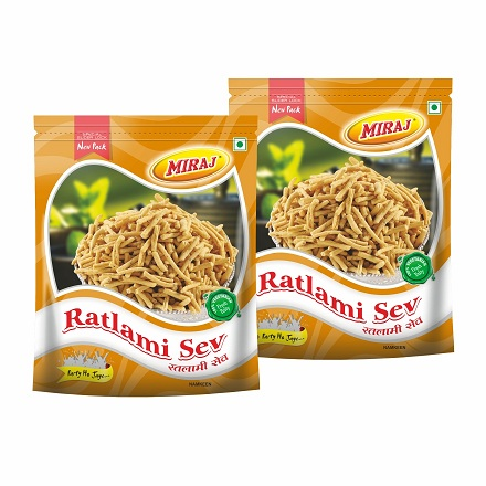 Ratlami Sev Combo pack Of (400g X 2)