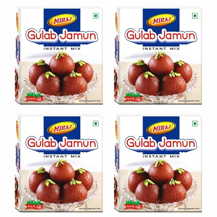 Miraj Gulab Jamun Instant Mix Pack of 4