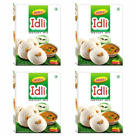 Miraj Idli Instant Mix pack of 4