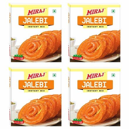 Miraj Jalebi Instant Mix  pack of 4