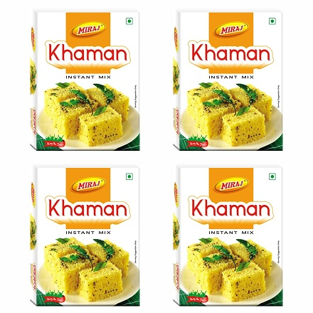 Miraj Khaman Instant Mix pack of 4