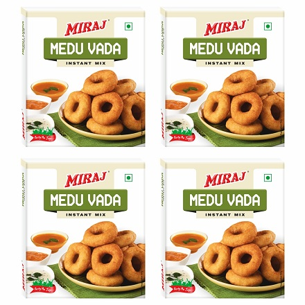 Miraj Medu Vada Instant Mix pack of 4