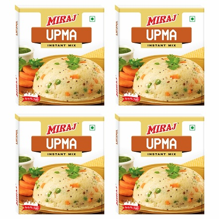 Miraj Upma Instant Mix pack of 4