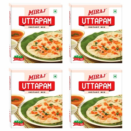 Miraj Uttapam Instant Mix pack of 4