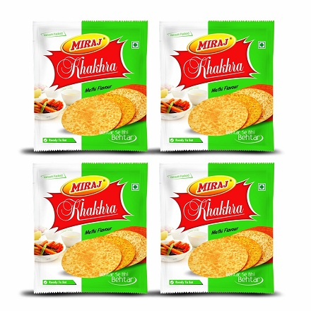 Methi Khakhra Combo Pack of (200g X 4)