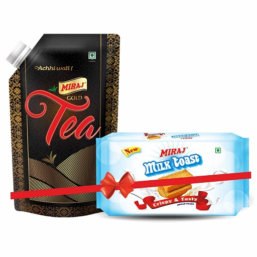 Gold Tea 500 g(Free 1 Pack of Milk toast free)