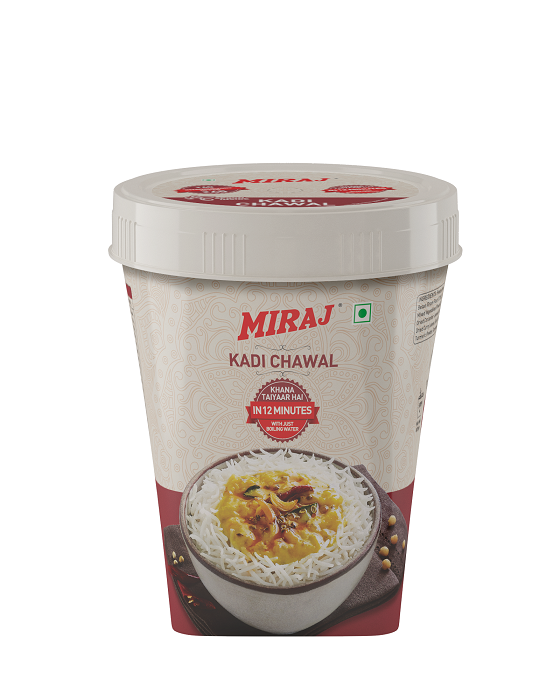 Miraj Ready To Cook Kadhi Chawal (Pack of 5)