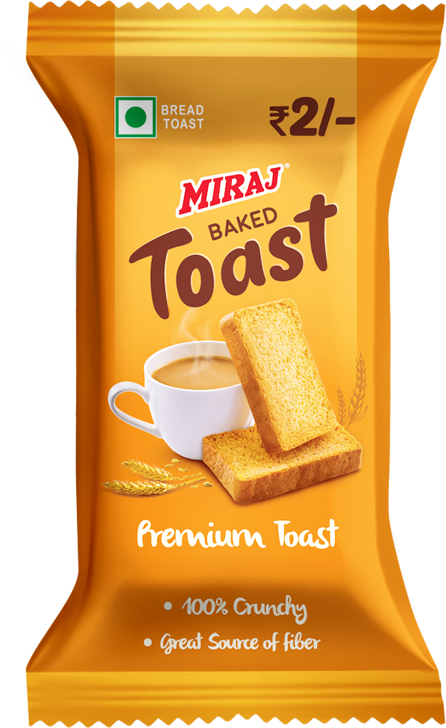 Miraj Premium Toast Pack of 40