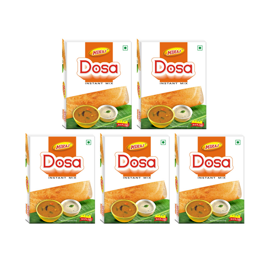 Miraj Dosa Instant Mix Pack of 5