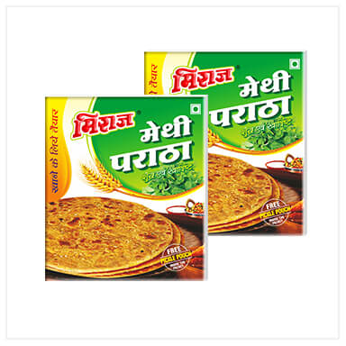 Methi Paratha Combo Pack(2x4 PCS)