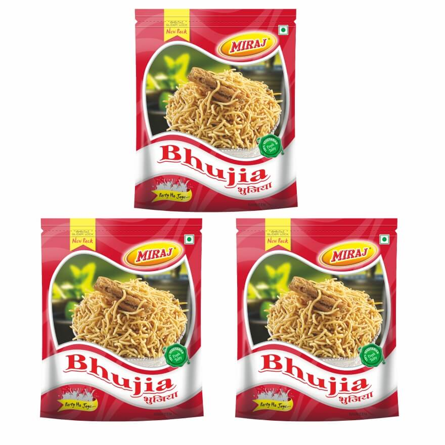 Bhujia Namkeen Pack Of (400g X 3)