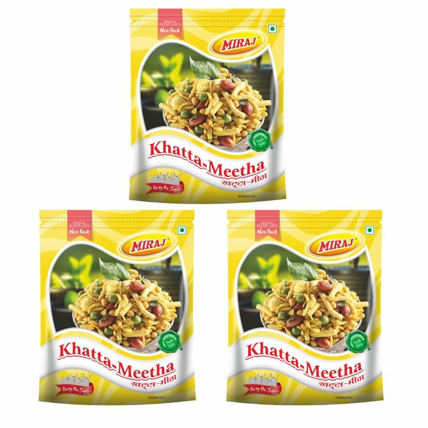 Khatta Meetha Pack Of (400g X 3)