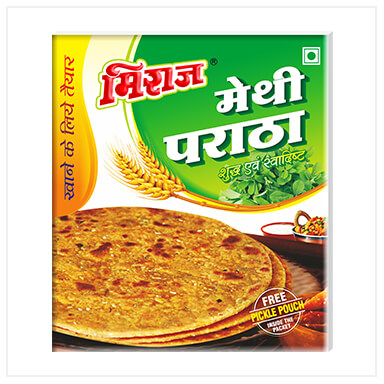 Methi Paratha 4PCS